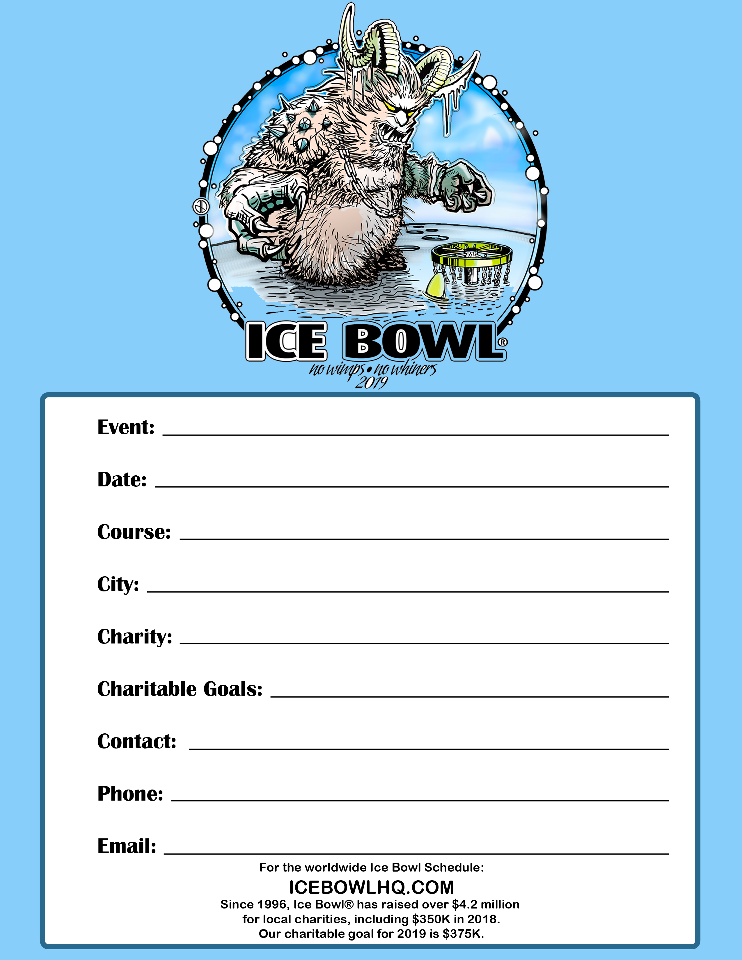 news and publicity ice bowl hq